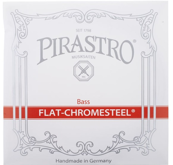 Pirastro flat chromesteel bass 4/4-3/4(包)