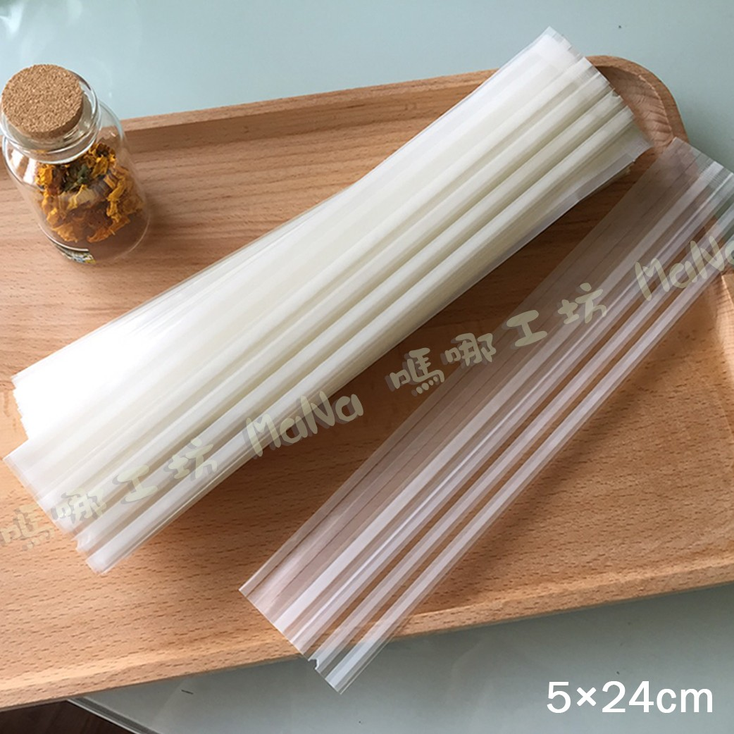 《條紋-單支蛋捲袋》包裝袋/糖果袋/蛋捲袋/餅乾袋/西點袋/飾品袋/塑膠袋/烘培包裝