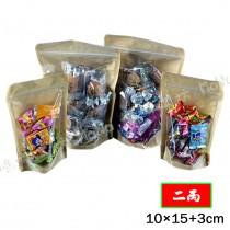 《二兩-半面牛皮保鮮夾鍊立袋》夾鏈袋/立袋/包裝袋/糖果袋/麵包袋/餅乾袋/西點袋/飾品袋/塑膠袋/烘培包裝