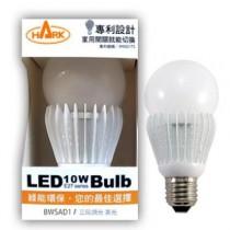 HARK 10W 三段調光 LED球泡燈 黃光 BWSAD1