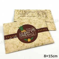 《經典鳳梨酥棉袋8 cm X 15 cm /需封口機/100入》包裝袋/棉袋/餅乾袋/點心袋/鳳梨酥袋/西點袋/飾品袋/塑膠袋/烘培包裝